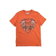 Kenzo Jungen Orange T-shirts Baumwolle