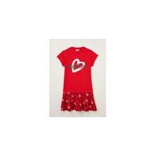 Moschino Kleid mit Glitzer und Logoaufdruck