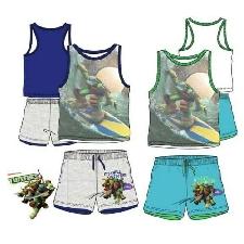 Komplett Kind Teenage Mutant Ninja Turtles Kleidung Von Junge T-Shirt 3 4 6 8 Bj