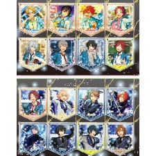 Conjunto Stars! Ritsu Sakuma Rei Sakuma Izumi PVC Llavero Cosplay Be
