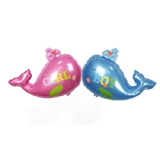Animal De La Mer Baleine Feuille D'aluminium Feuille D'aluminium Ballon Enfants