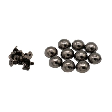 10pc Rivets Studs Punk Spikes pour DIY Sacs Studs Button Supply 12mm