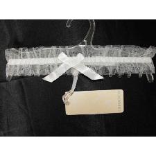 De Luxe Mariage Jarretière Taille Unique Ivoire 100% Polyester Charnos ZB012