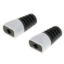 2pcs Pinces de Protection pour Connecteur de Câble de Chargement de