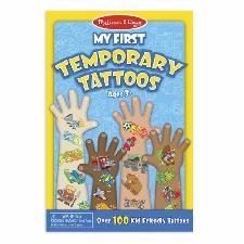 Melissa And Doug 12947 - Mon Premier Tatouage Temporaire - Bleu - Neuf