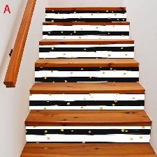 2019 Meubles Décoration Nouveau Escalier Autocollants D'escalier De Noël @Sdongt1111