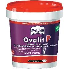 Colle dalles plafonds et rénovation de toiles de verre Metylan Ovalit P 925 g