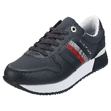 Tommy Hilfiger Active City Sneaker Femme Baskets Mode Bleu