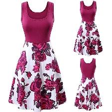 Les lapins Galore-Cerise Rose-Tissu coton patchwork couture robe de