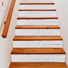 2019 Meubles Décoration Nouveau Escalier Autocollants D'escalier De Noël @Doauhao1876