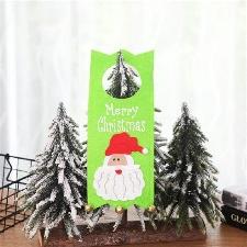 Joyeux Noël Décoration Décoration De La Maison Porte Suspendus Cadeaux Pour Enfants Zhizheyea