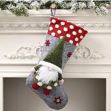 Chaussettes De Noël Sac Cadeau Décorations De Noël Chaussettes De Noël Bonbons Pour Enfants Zhizheyea