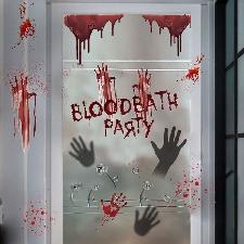 Monde Halloween Wall Sticker Salon Chambre Décor Autocollant Salon Diy
