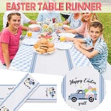 Table Et Cuisine Chemin De Lapin Pâques Vacances Pour La Maison -B