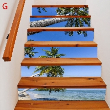2019 Meubles Décoration Nouveau Escalier Autocollants D'escalier De Noël @Napoulen3313