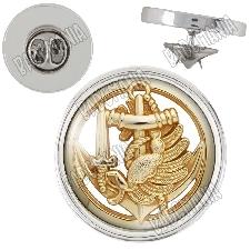 Badge 38mm Bouton Epinglette 1er RPIMA 1er R/égiment de Parachutistes dInfanterie de Marine
