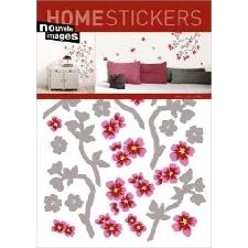 Plantes Sticker Adhésif Mural Autocollant - Cerisier Japonais En Fleurs