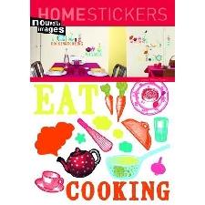 Cuisine Sticker Adhésif Mural Autocollant - Cuisiner