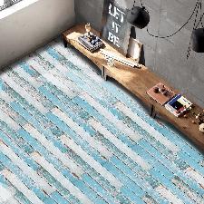 20x50cm Adhésif Pour Carreau Art Floor Sticker Mural Sticker Bricolage Cuisine Salle De Bain Décor Wall Stickers 7761