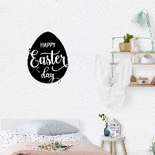 Easter Egg Wall Sticker Cartoon Chambre Murale Party Decal Fenêtre Décor Nouveau Wall Stickers 5636