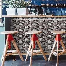 20x500cm Adhésif Tile Art Métopes Stickers Muraux Sticker Bricolage Cuisine Salle De Bain Décor Wall Stickers 4118