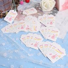 Étiquettes En Papier Kraft Lapin De Pâques Artisanat De Mariage Bricolage Décorations De Lapin De Pâques Ornements Suspendus Pour La Maison