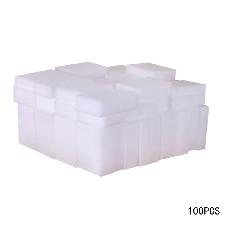 Hean 100 Pieces Eponge Magique Eponge Gomme Melamine Nettoyant Pour Cuisine Bureau Salle De Bains Nettoyage Nano Eponges 10*6*2 Cm