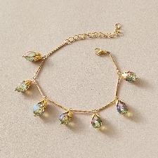 Bracelet à breloques en cristal