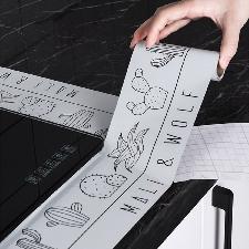 1 rouleau Sticker antikérosène de cuisine