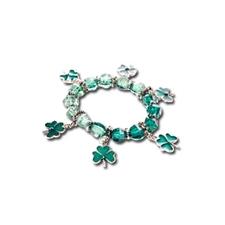 Bracelet à breloques Fête de la Saint-Patrick