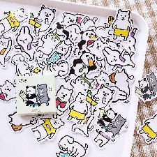 Stickers Muraux Noirs Pour R¿¿Frig¿¿RateurJaune Clair