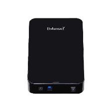 """Intenso Memory Center - Disque dur - 8 To - externe (de bureau) - 3.5"""" - USB 3.0 - 5400 tours/min - mémoire tampon : 32 Mo - noir"""