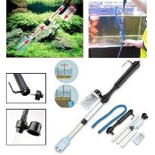 Aquarium gravier batterie Aquarium aspirateur Siphon nettoyeur pompe filtre à eau