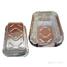 10x Barquettes Aluminium 700 ml Recyclable pour Barbecues à Gaz Weber Spirit Barbecues Weber Q