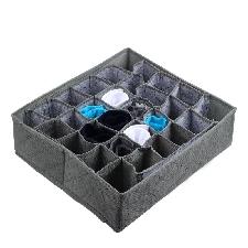 30 Cellules Pliable Boîte Armoire Soutien Gorge Organisateur Chaussettes Sac De Rangement Sous Vêtements Placard Organisateur Sac Vêtements Conteneur