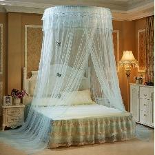 Ciel De Lit Moustiquaire Ciel De Lit Princesse Moustiquaire Dôme Avec Décor Papillon Pour Chambre Bébé Ou Enfant Vert