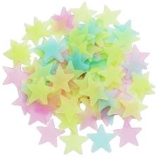 Trixes Lot D'étoiles Variées À Coller Qui Brillent Dans L'obscurité Amusement Jeu