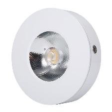 Rom Ac220v Aluminium Led Super Bright Cob Ultrathin Downlight Light Plafonnier (Blanc 6500k (Blanc Froid)) -Koa