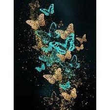 5d Peinture De Diamant Papillon - Qz0407b14199