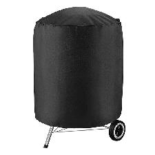 Couverture imperméable pour barbecue, grande et petite couverture ronde, pour barbecue, résistante à la pluie, au gaz, au charbon ou électrique, Weber