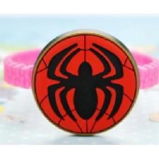 1pc Mignon Super Héros Bracelet Pour Enfants Bonbons Couleur Film Figure Charme Doux Silicone Bracelet Bracelet Enfants Bracelets Spider