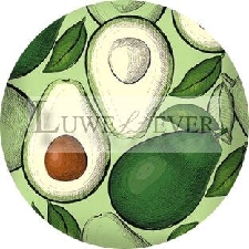 Cabochon En Verre Rond Avec Motifs De Fruits, 10mm, 12mm, 16mm, 20mm, 25mm, 30mm, 643 4