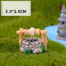 Mini Ornement De Style Chinois Limité Pour Décoration De Jardin, Figurines De Pont De Puits De Phare, Artisanat Miniature, Décoration De Pot Féerique