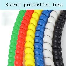 Manchon De Câble Enroulé En Spirale Coloré, 1m 8-32mm, Pour Câblage De Moto, Manchon De Caloduc - 21dltg0816a00384