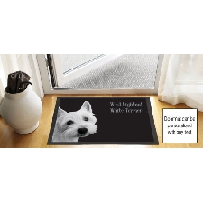 INSTASTOP ANTI-SLIP MATTING MODERN ROUND DOOR SAFETY STOP STOPPER STAY WHITE