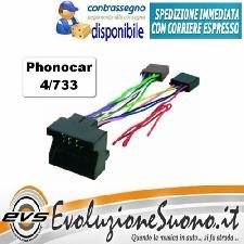 Phonocar 4//713 Cavo Connettore Adattatore da Autoradio ISO a Subaru Forester '15