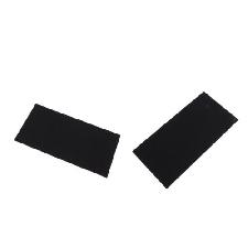 2 Pezzi Di Abbigliamento Patch Di Riparazione Autoadesiva Riparazione