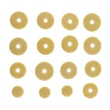 1 Set di pad per flauto aperto Foro di dimensioni standard Pad Mat