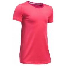 Under Armour Bambine Manica Corta Corsa Allenamento Fitness T-Shirt Rosa