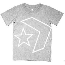 Converse Star Chevron Junior T-Shirt Maglietta Grigio